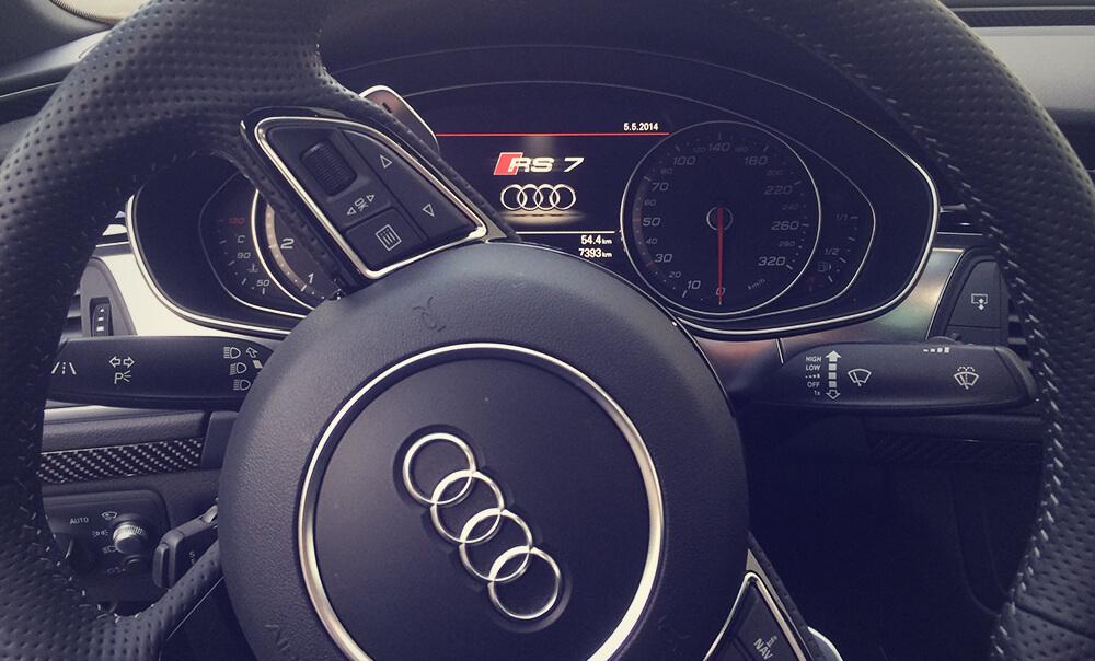 Retour d'expérience de l'Audi RS7